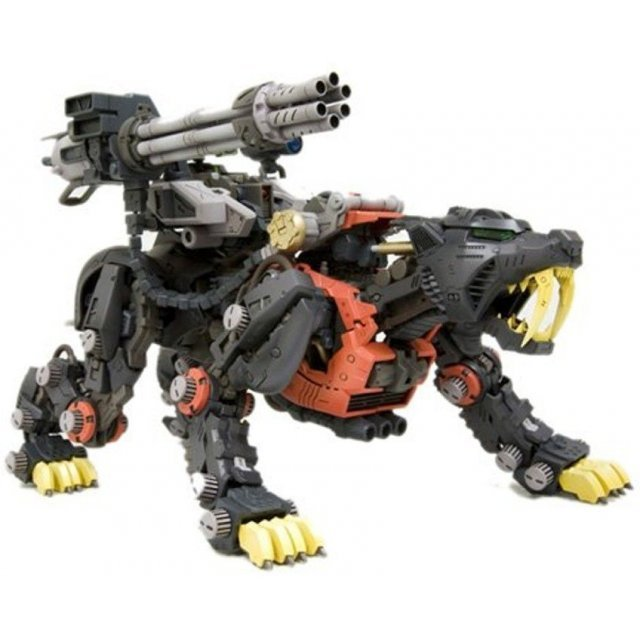 Zoids HMM : EZ-016 Saber Tiger Schwartz Ver. (Re-run)