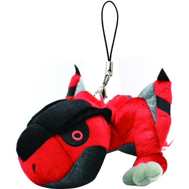 Monster Hunter Monster Mini Mascot Plush: Tigrex Rare Species (Re-run)