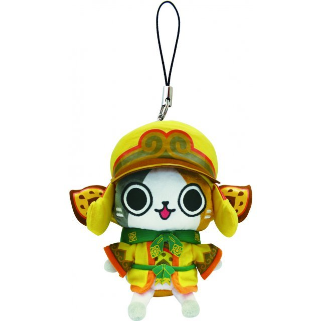 Monster Hunter Otomo Airou Mini Mascot Plush: Kecha Cat