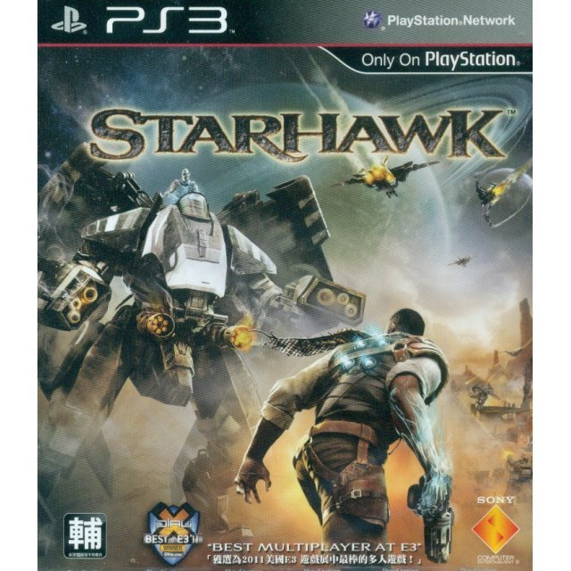 Starhawk (English, Chinese, Korean) Package color is faded