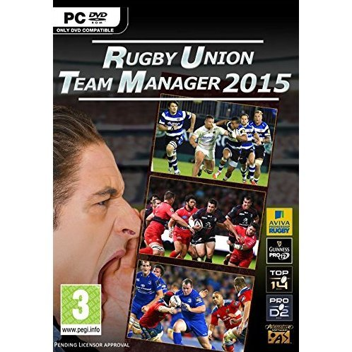 Rugby Union Team Manager 2015 (DVD-ROM)