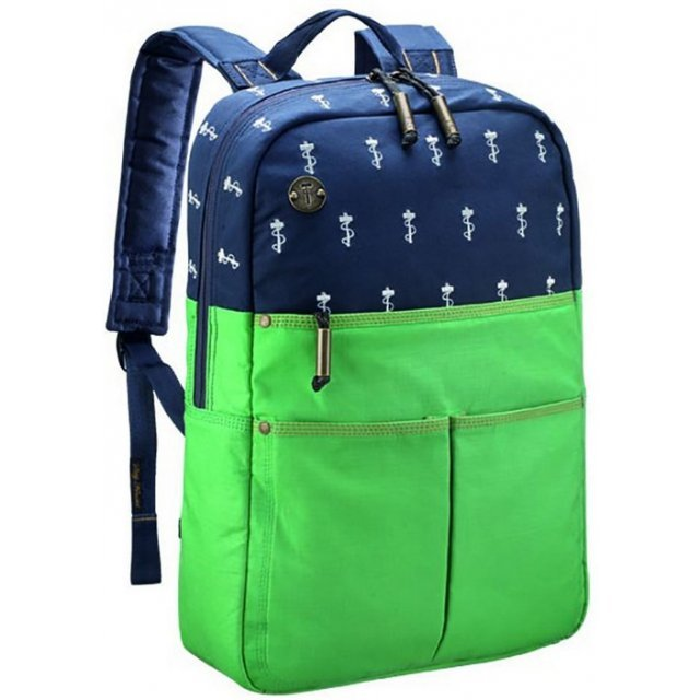 Focused Space The Departure Backpack (Green)