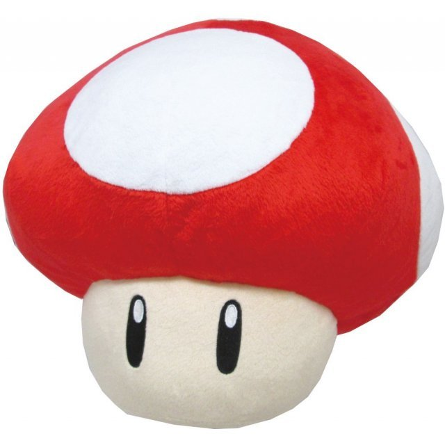 Super Mario Cushion: Super Mushroom