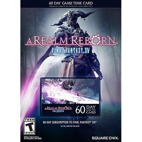 Final Fantasy XIV: A Realm Reborn (60-Day Game Time Card)