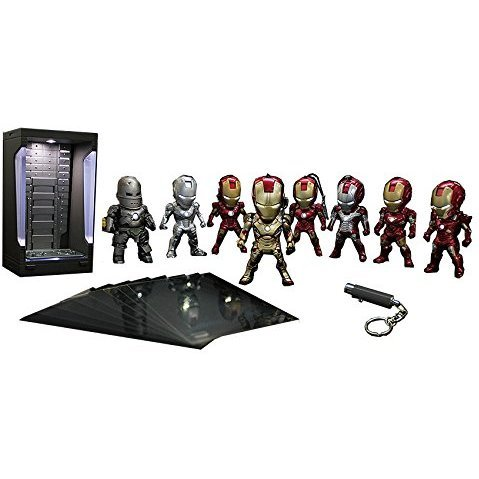 Iron Man 3 Kids Nations Diorama X01 Deluxe Box Set