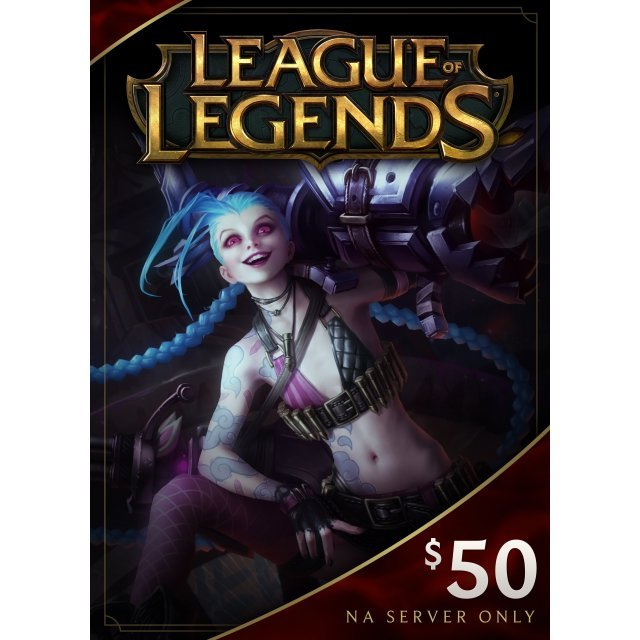 League of Legends Gift Card USD 50