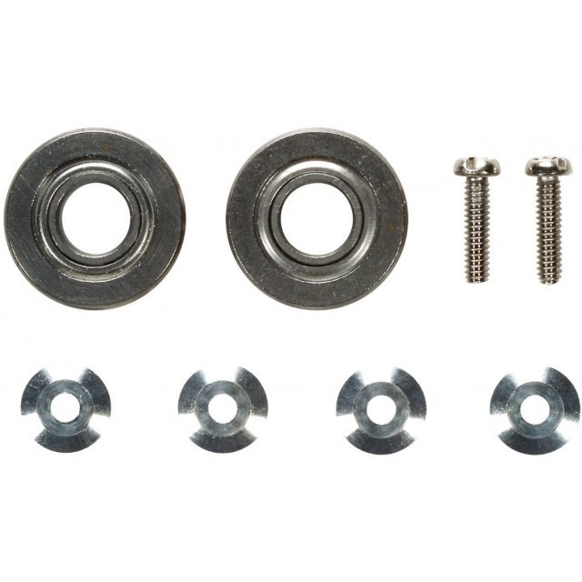Mini 4WD Grade Up Parts: GP475 13mm Ball Bearing Set II for Mini 4WD Roller