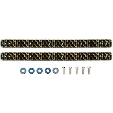 Mini 4WD Grade Up Parts: HG Carbon Multi Reinforced Plate for 13/19mm Roller (2mm/Gold)