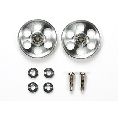 Mini 4WD Grade Up Parts: HG Light Weight 19mm Aluminum Bearing Roller