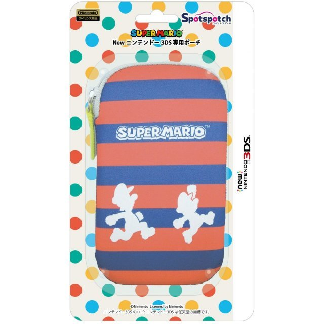 Spotch Pouch for New 3DS (Super Mario)