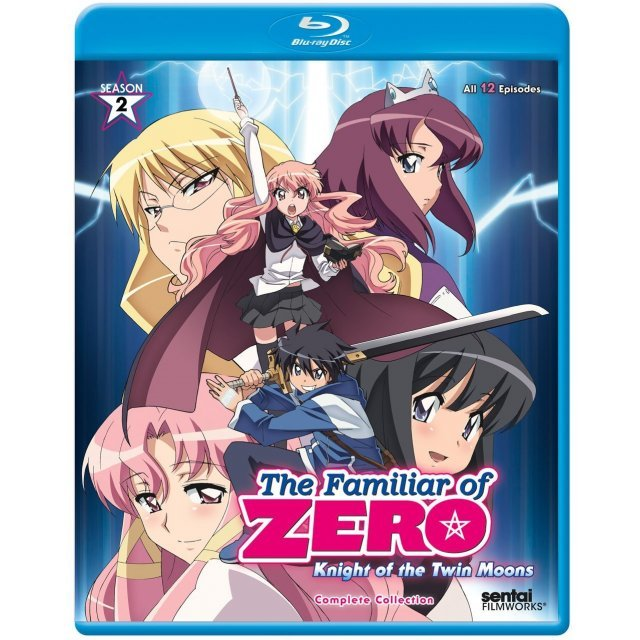 The Familiar of Zero: Knight of the Twin Moons - Season 2 Complete Collection
