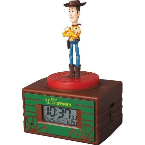 Voice Clock Toy Story Ultra Detail Figure: Woody & Buzz