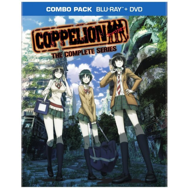 Coppelion: The Complete Series [Blu-ray+DVD]