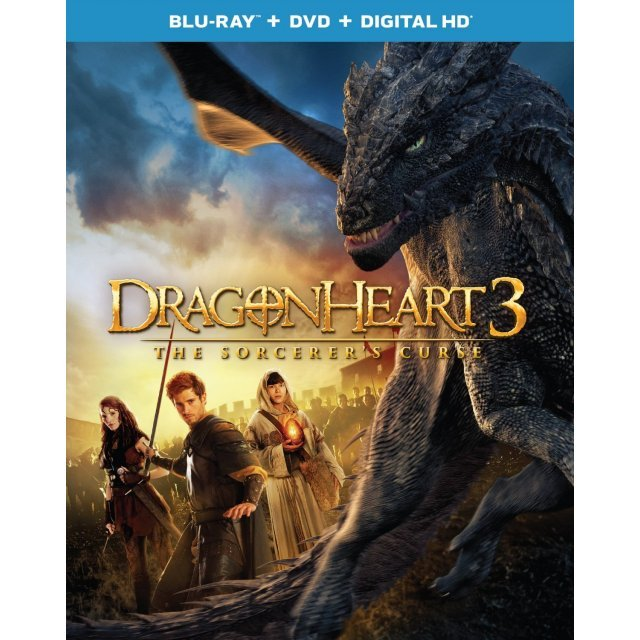 Dragonheart 3: The Sorcerer's Curse [Blu-ray+DVD+Digital HD]