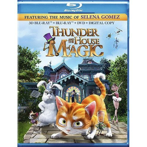 Thunder and the House of Magic [Blu-ray 3D+Blu-ray+DVD+Digital Copy]