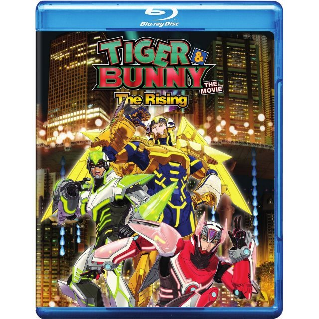 Tiger & Bunny the Movie: The Rising [Blu-ray+DVD]