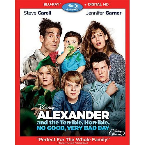 Alexander and the Terrible, Horrible, No Good, Very Bad Day [Blu-ray+Digital Copy]