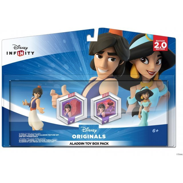 Disney Infinity: Disney Originals (2.0 Edition) Aladdin Toy Box Pack