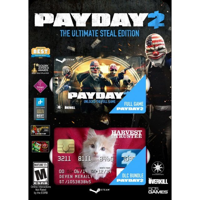 Payday 2 The Ultimate Steal Edition (Steam)