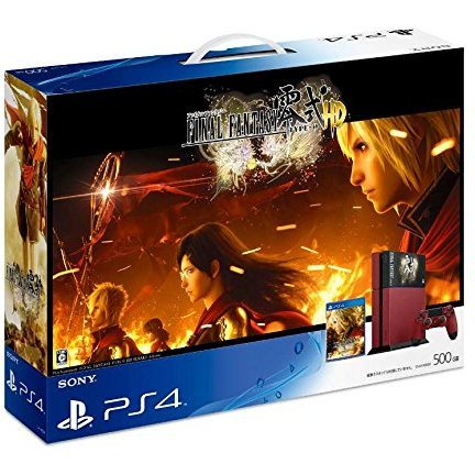 PlayStation 4 System [Final Fantasy Type-0 HD Suzaku Edition]