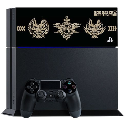 PlayStation 4 System [God Eater 2: Rage Burst Edition] (Jet Black)