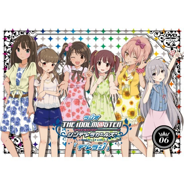 Radio The Idolmaster Cinderella Girls - Dereraji Dvd Vol.6