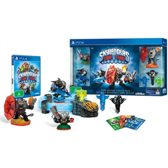 Skylanders Trap Team [Dark Edition Starter Pack]
