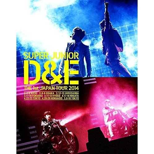 Super Junior D&E The 1st Japan Tour 2014 [Limited Edition]