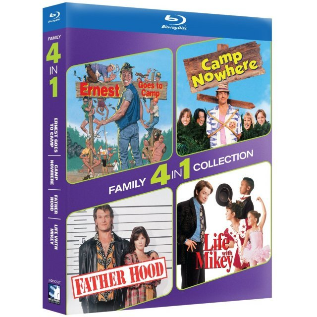 4-Pack Family: Ernest Goes to Camp / Camp Nowhere / Father Hood / Life With Mikey
