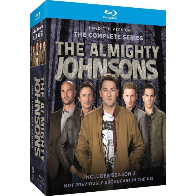 Almighty Johnsons Season 1 2 3