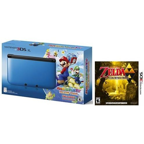 Nintendo 3DS XL Mario Party: Island Tour Bundle (with The Legend of Zelda: A Link Between Worlds)