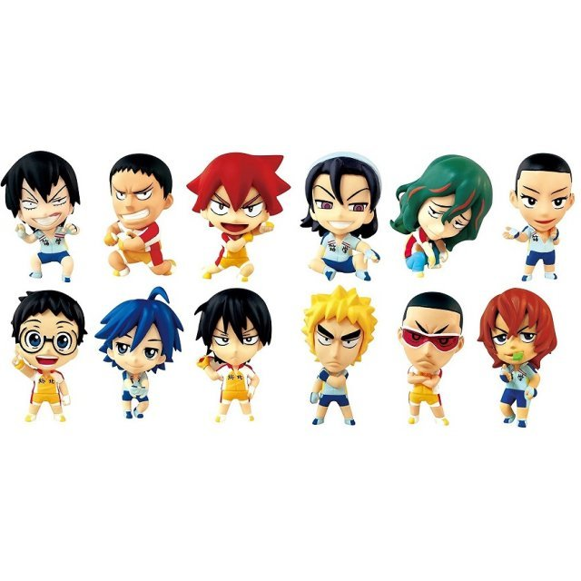 Yowamushi Pedal - Grande Road Ani-Chara Heroes (Set of 12 pieces)