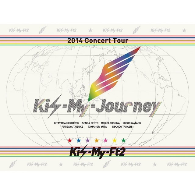2014 Concert Tour Kis-my-journey [Limited Edition]