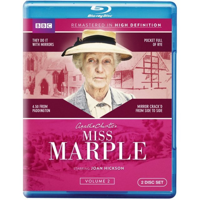Miss marple joan hickson dvd pkhowto for Miss marple le miroir se brisa