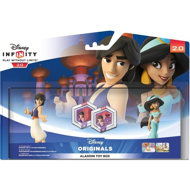 Disney Infinity 2.0 Edition: Aladdin Toy Box Pack