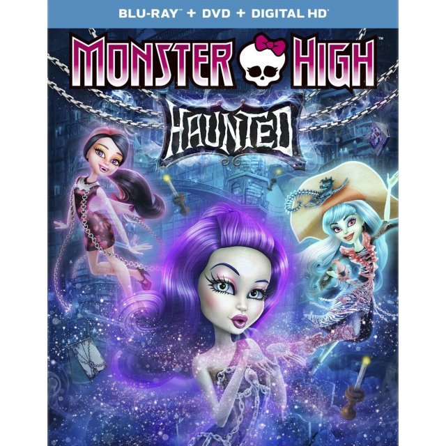 Monster High: Haunted [Blu-ray+DVD+Digital Copy+UltraViolet]