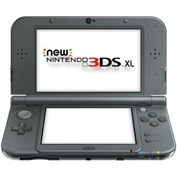 New Nintendo 3DS XL (Metallic Black)