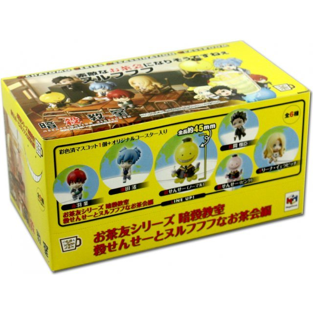 Ochatomo Series Ansatsu Kyoshitsu: Korosensei and Nurufufufu Tea Ceremony (Set of 6 pieces)