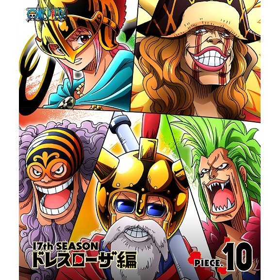 One Piece 17th Season Dressrosa Hen Piece.10