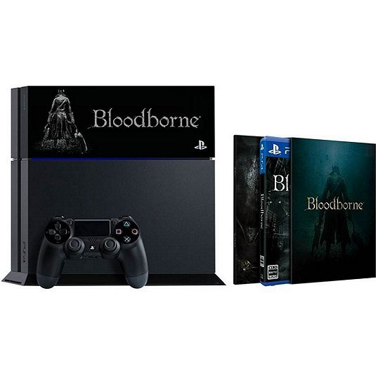 PlayStation 4 System [Bloodborne Limited Edition] (Jet Black)
