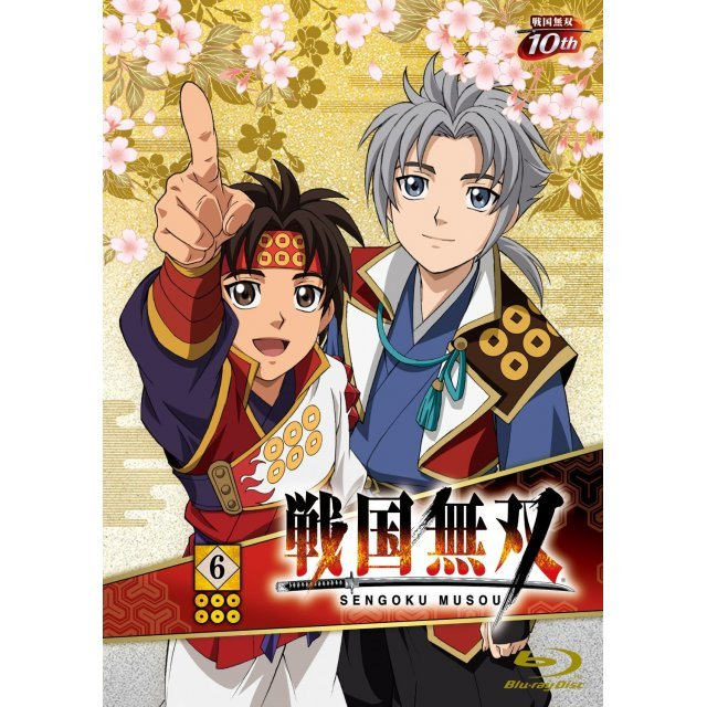 Sengoku Muso Vol.6 [Blu-ray+CD Limited Edition]