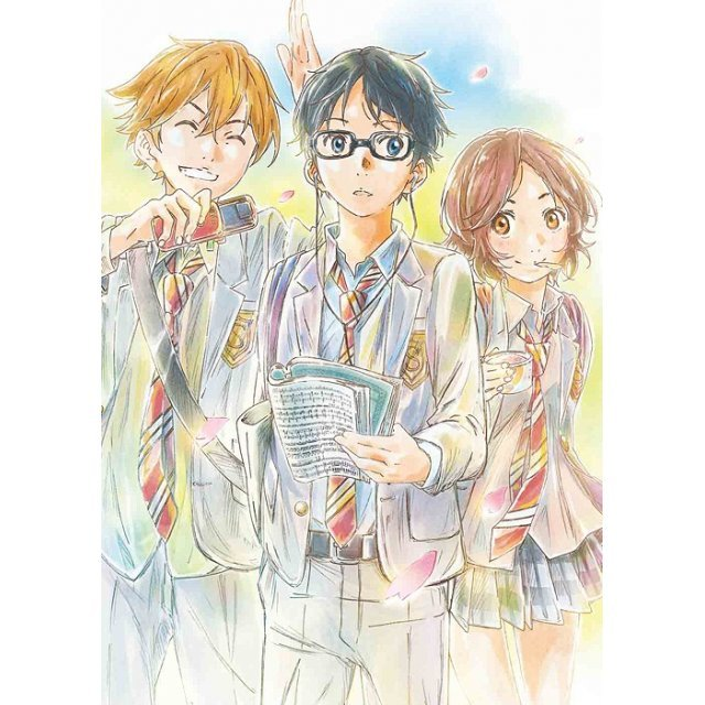 Shigatsu Wa Kimi No Uso Vol.1 [DVD+CD Limited Edition]