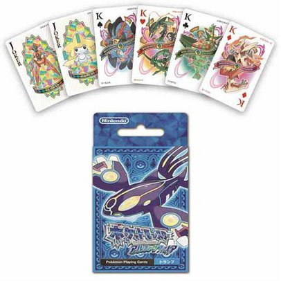 Pokemon Alpha Sapphire Trump Playing Cards