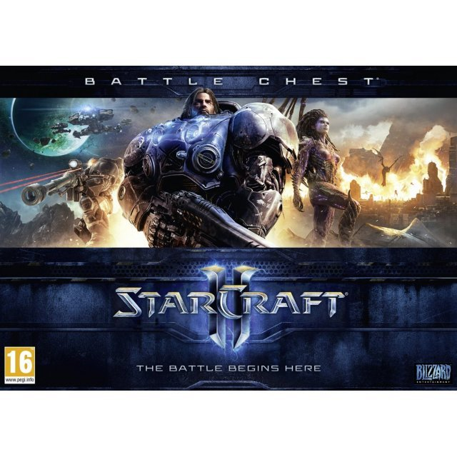 Starcraft II Battle Chest (DVD-ROM)