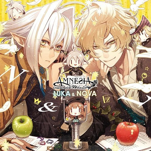 Amnesia World Character CD Luka & Nova