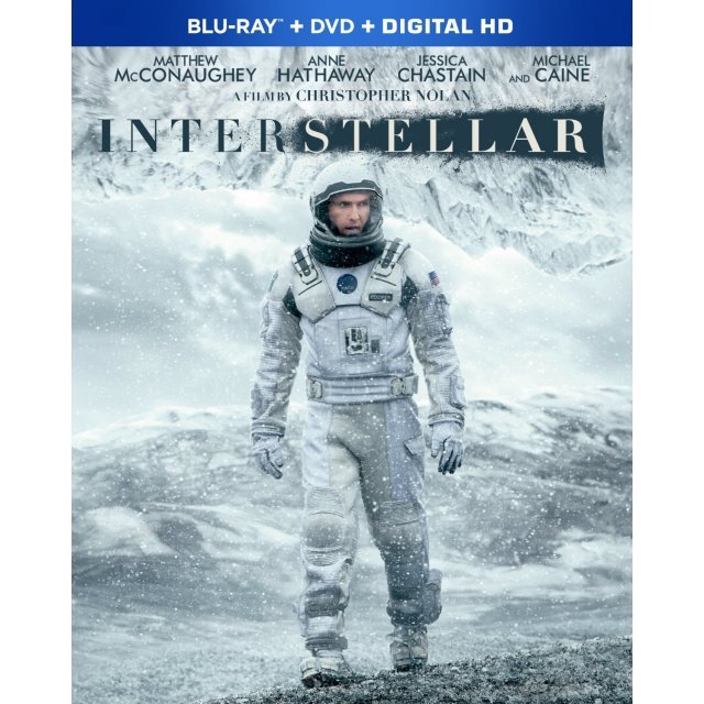 Interstellar [Blu-ray+DVD+Digital Copy+UltraViolet]