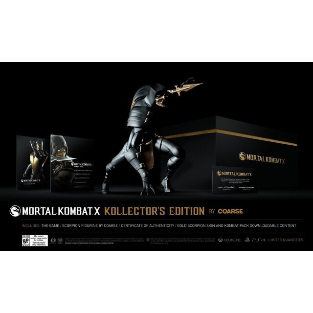 Mortal Kombat X (Kollector's Edition) by Coarse
