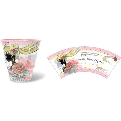 Sailor Moon Crystal Melamine Cup: 05 Rose ML