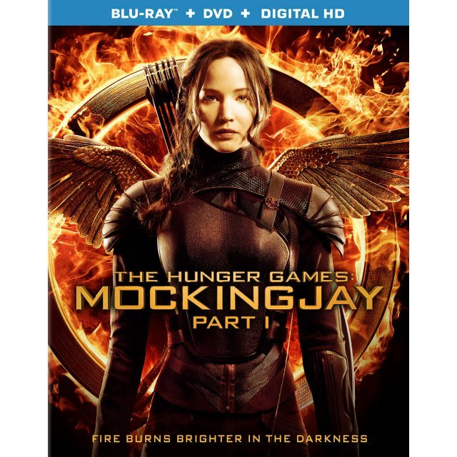 The Hunger Games: Mockingjay - Part 1 [Blu-ray+ DVD+Digital Copy+UltraViolet]
