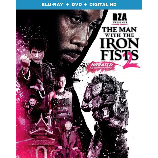 The Man with the Iron Fists 2 [Blu-ray+DVD+Digital Copy]